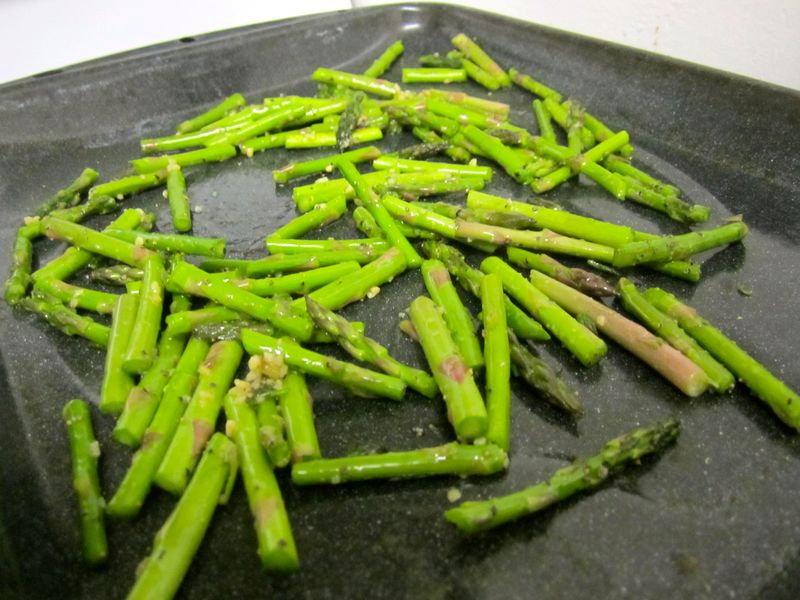 asparagus with garlic