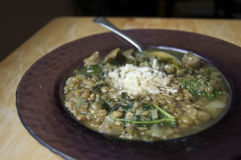 kale-eggplant-and-lentil-soup