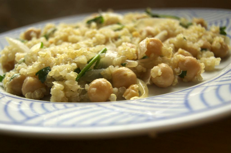 lemon-quinoa-with-chickpeas